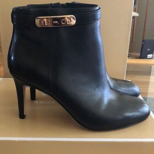 Coach heeled booties **Authentic**